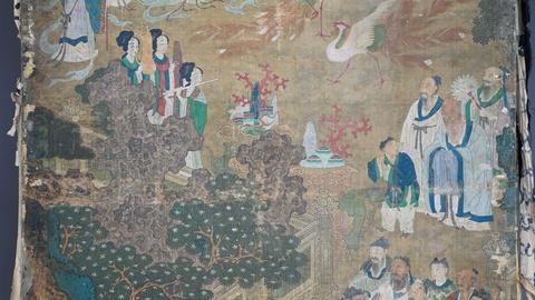 Appraisal: Korean Court Screen, ca. 1700