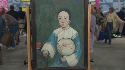 Antiques Roadshow -- Appraisal: Chinese- export Gouache, ca.1910