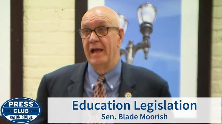 Press Club: Education Legislation | Sen. Blade Moorish | 04/29/19
