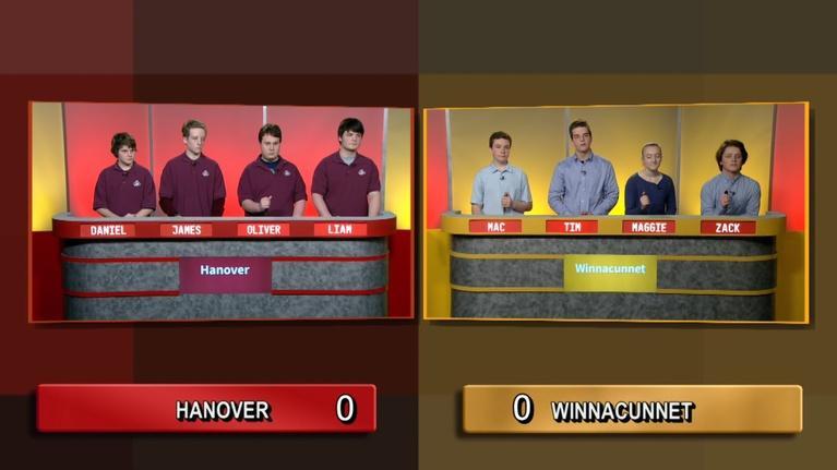 Granite State Challenge: Hanover Vs. Winnacunnet