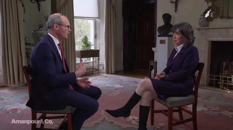 Amanpour and Company: Irish Deputy Prime Minister Simon Coveney on Brexit