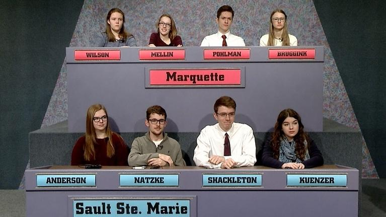 High School Bowl: 4037 2018 Semifinals: Marquette vs Sault Ste. Marie
