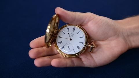 Antiques Roadshow -- S21 Ep17: Appraisal: English Detent Chronometer Pocket Watch