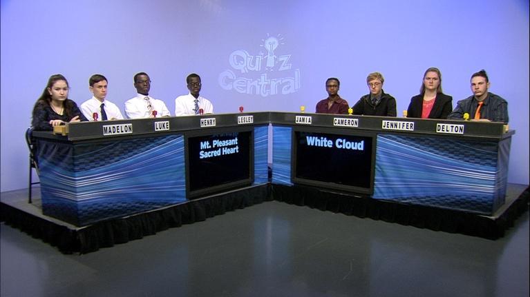 Quiz Central: White Couldvs. Mt. Pleasant Sacred Heart