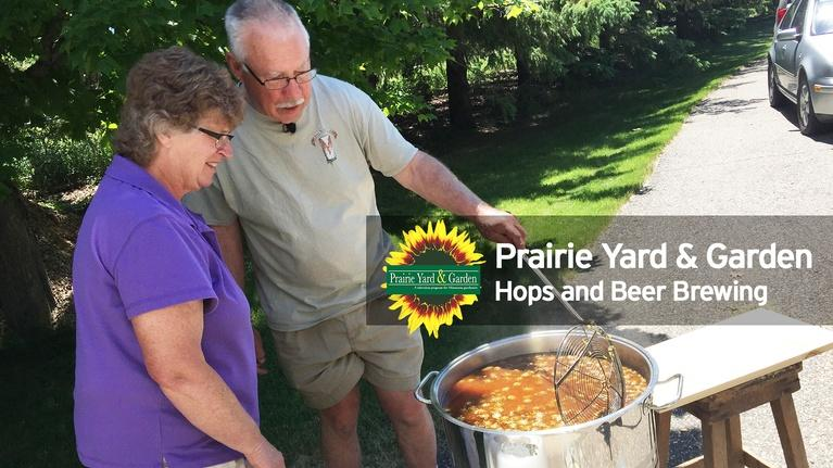 Prairie Yard & Garden: Hops and Beer Brewing