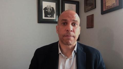 Sen. Cory Booker Reflects on the Stakes in This Election