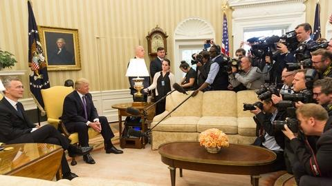 Washington Week -- Dramatic shifts in the Trump Doctrine