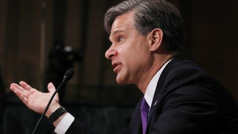 PBS NewsHour -- Senate presses Trump's FBI director pick for independence