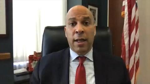 Cory Booker 'frustrated' over stimulus bill discussions
