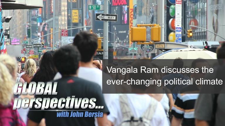"Global Perspectives: Vangala ""Van"" Ram - Sunday @ 9:30am"