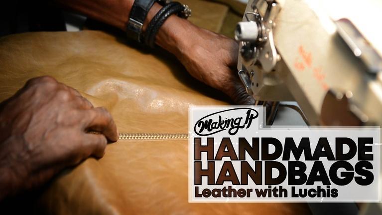 WVIZ/PBS ideastream Specials: Custom Handbags Crafted in Leather