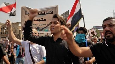Iraq: protesters allege corruption, to boycott polls