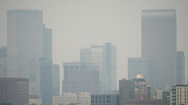 How Wildfires and Ozone Led to Terrible Air Quality