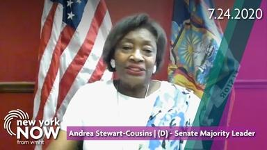 Interview with Senate Leader Andrea Stewart-Cousins