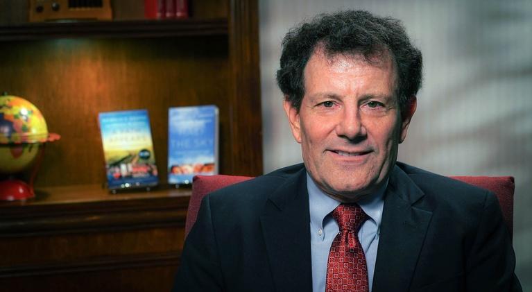 Dialogue: Columnist Nicholas Kristof