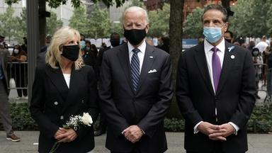 Trump, Biden make somber 9/11 appearances