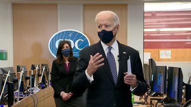 U.S. Reaches President Biden's Goal of 100 Million Vaccines