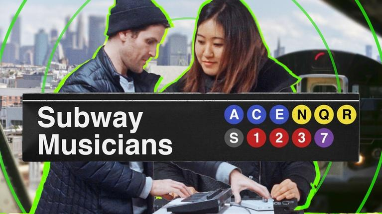 Sound Field: What It's Like Busking in the NYC Subway