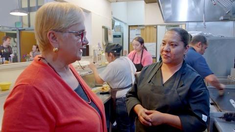 Lidia Celebrates America -- Comal Heritage Food Incubator - Erika