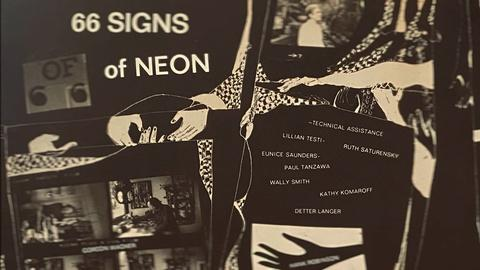 Artbound -- The Life, Death and Afterlife of '66 Signs of Neon'