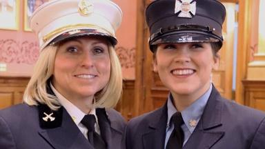Female Firefighters of the Jersey City Fire Department