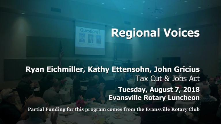 Evansville Rotary Club: Regional Voices: Tax Cuts & Job Act