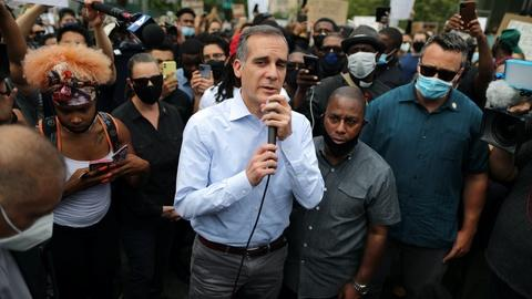 Mayor Garcetti on changing, but not eliminating, the police