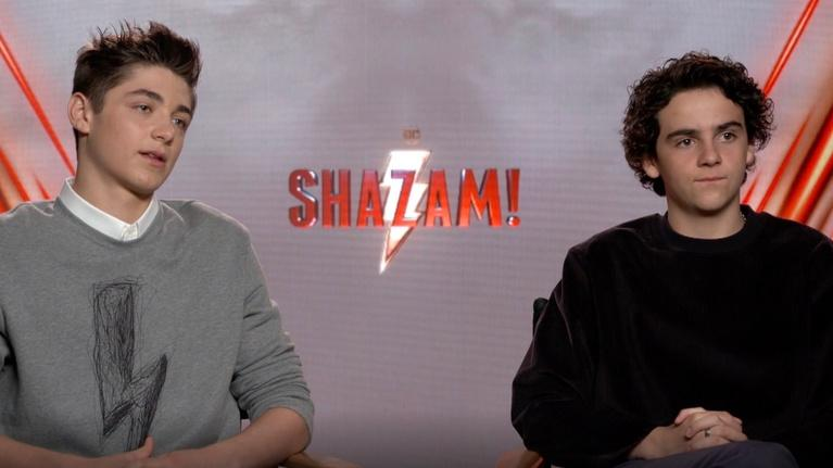 "Flicks: Asher Angel & Jack Dylan Grazer for ""Shazam!"""