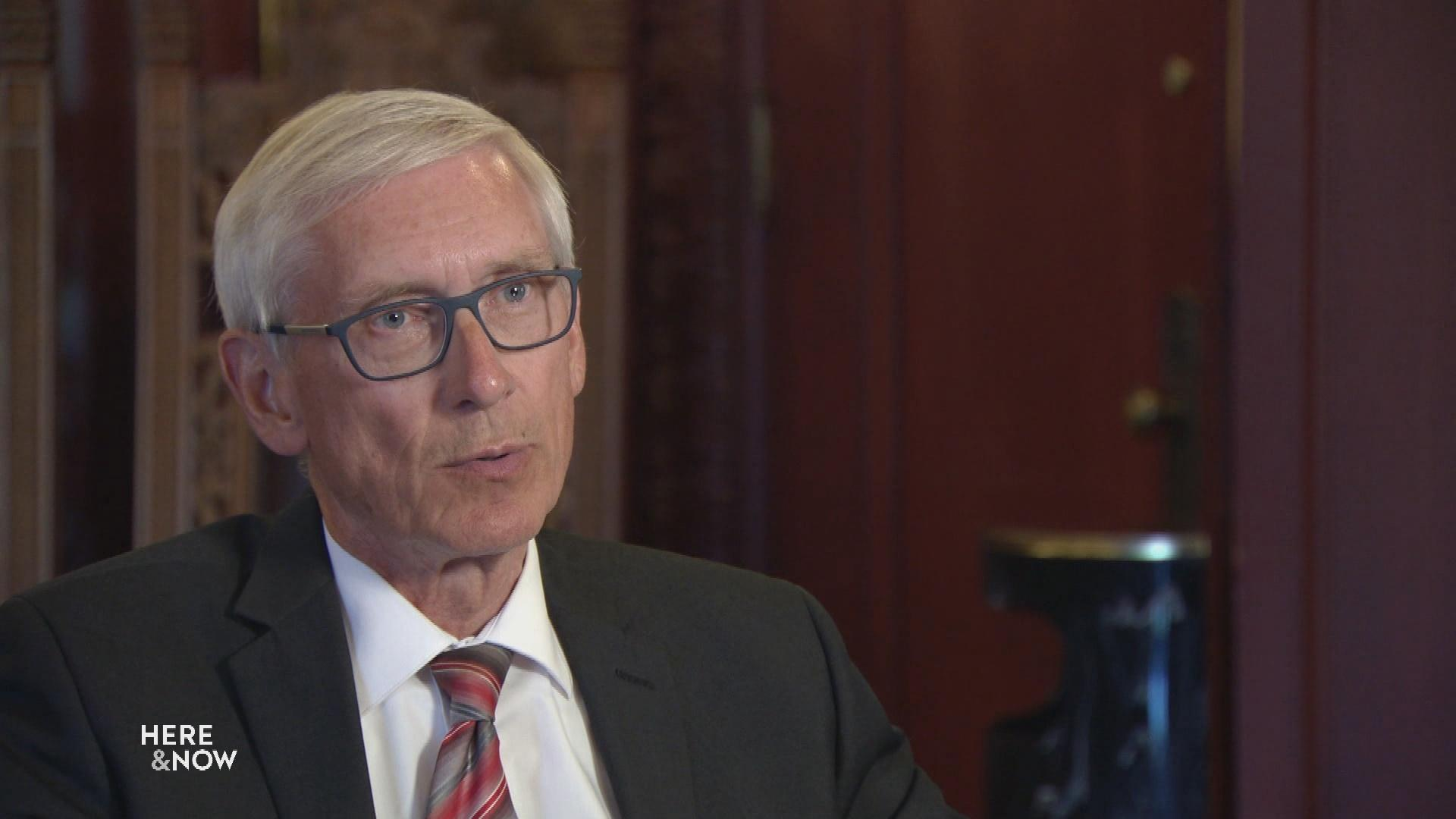 Evers Discusses Budget, Marijuana, Redistricting