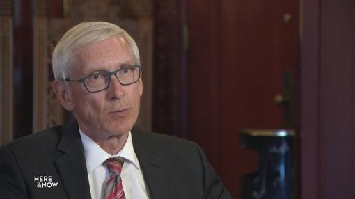 Here and Now : Evers Discusses Budget, Marijuana, Redistricting