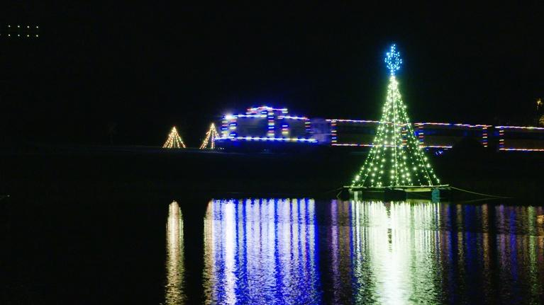 NC Weekend: Enchanted Airlie and Denton Holiday Train