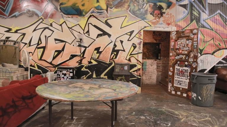 MPT Digital Studios: The Dig: Graffiti Warehouse