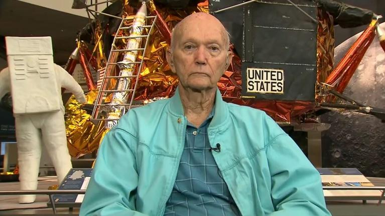 Amanpour and Company: Apollo 11 Astronaut Michael Collins on the Moon Landing