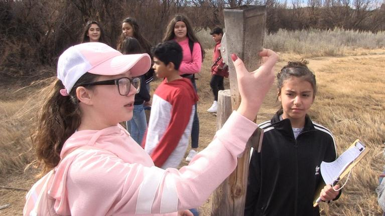 Issues & Answers: Vista Middle Schoolers Do Fieldwork As Citizen Scientists