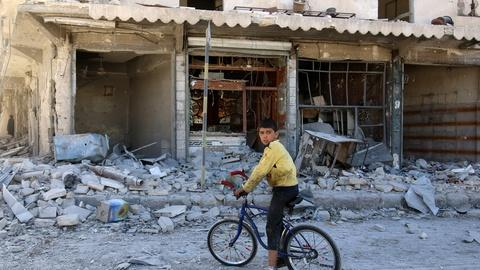 PBS NewsHour -- How war and years of lost education have devastated Syrian c