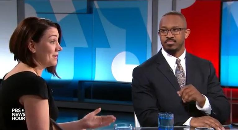 PBS NewsHour: Tamara Keith and Joshua Johnson on Trump's economy, gun laws