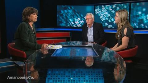 """Amanpour and Company -- Keith Scholey & Sophie Lanfear on """"Our Planet"""""""