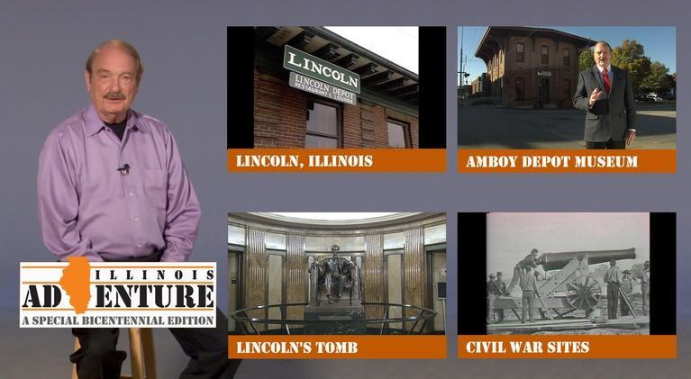 Illinois Adventure: S20 E08: Illinois - Lincoln and Civil War Sites