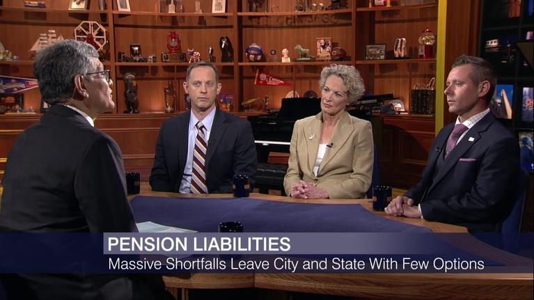 Chicago Tonight: Pension Liabilities Leave City, State With Few Options