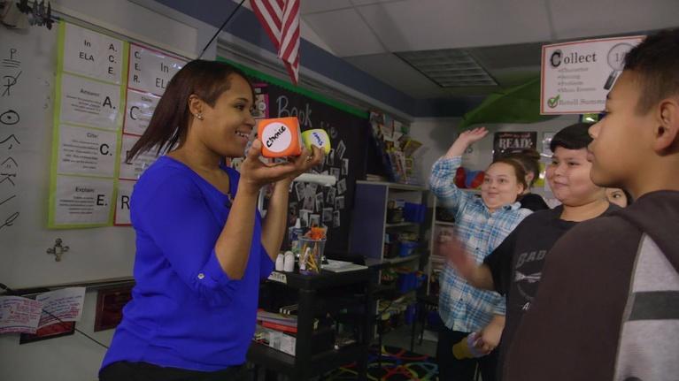Golden Apple Awards: Kent Teacher Denisha Saucedo Helps Students Thrive