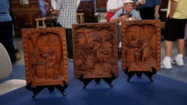 Appraisal: Three Black Forest Carved Plaques