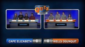 Cape Elizabeth vs  Wells   Season 1 Episode 105   High School Quiz