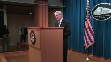 Special counsel Robert Mueller speaks out