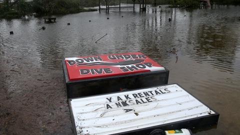 Hurricane Sally floods Gulf Coast -- and isn't moving much