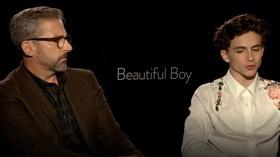 Steve Carrell And Timothee Chalamet For Beautiful Boy Flicks Pbs