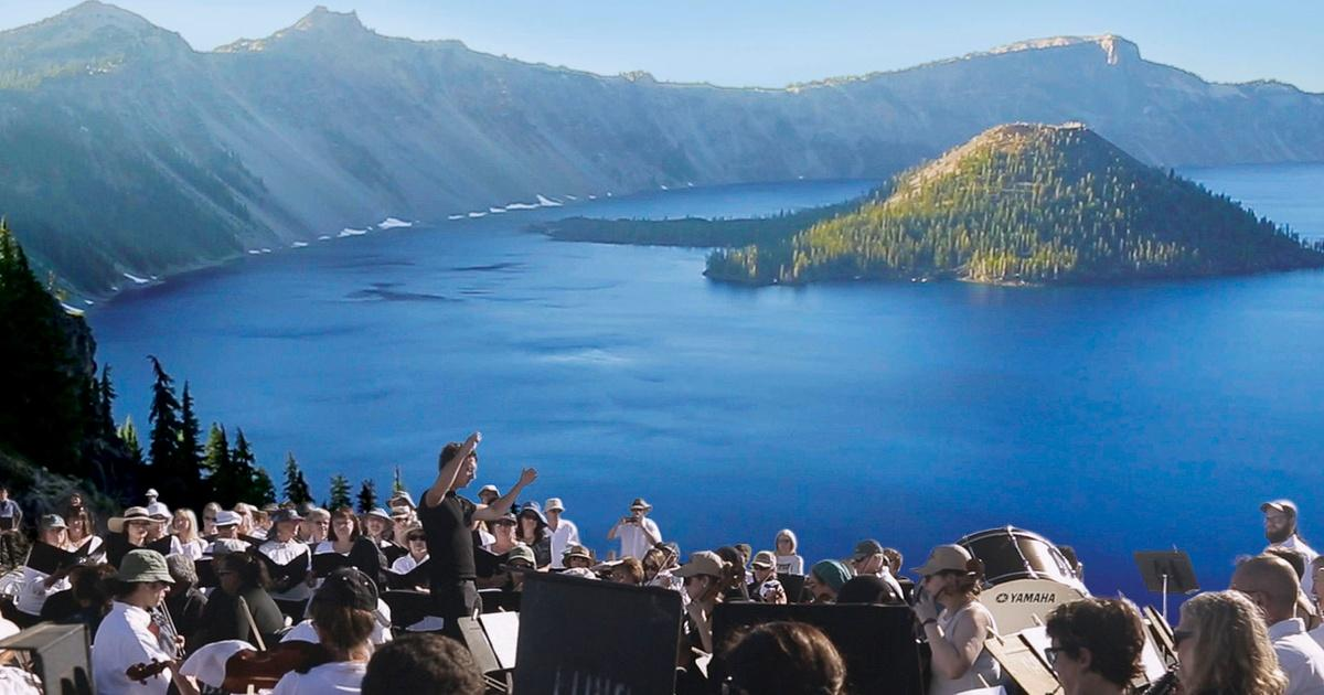 symphony for nature  the britt orchestra at crater lake