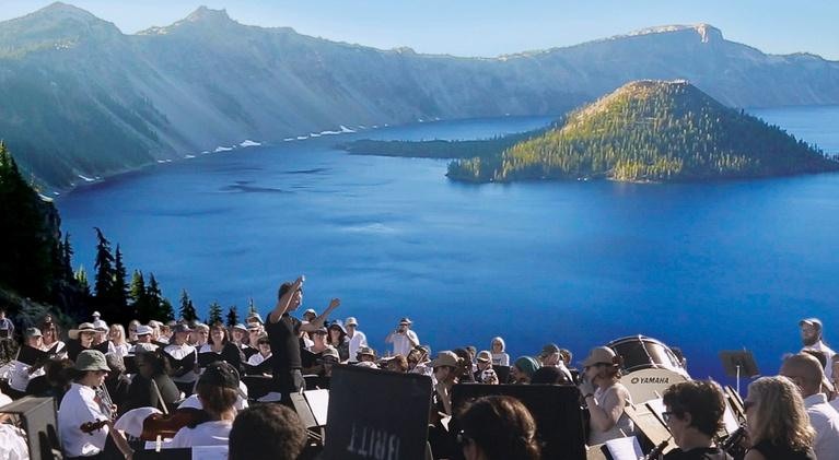 Symphony for Nature: The Britt Orchestra at Crater Lake: Official Trailer