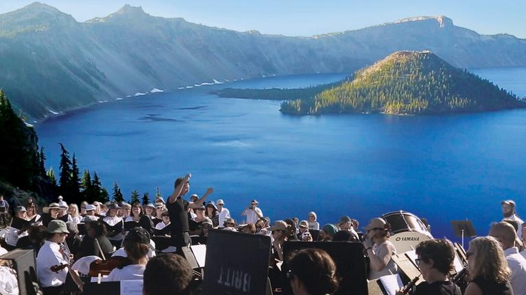 Symphony for Nature: The Britt Orchestra at Crater Lake: Preview