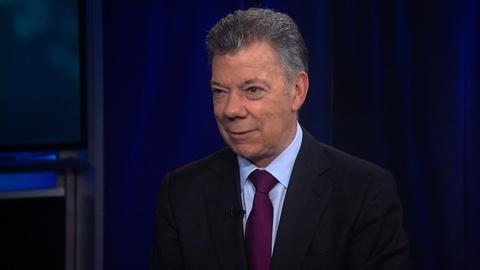 Amanpour and Company -- Juan Manuel Santos Discusses Unrest in Latin America
