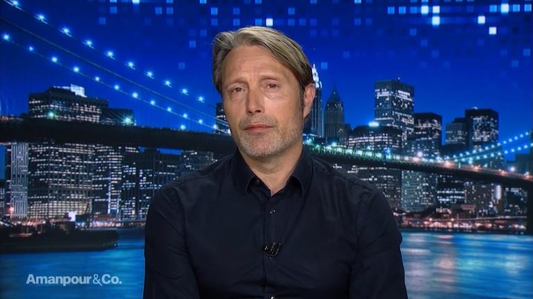 """Amanpour and Company: Mads Mikkelsen on His New Movie """"Arctic"""""""